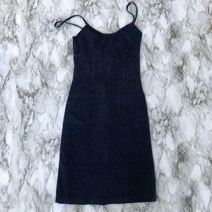 Vintage jean dress A5